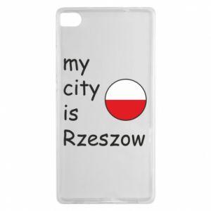 Huawei P8 Case My city is Rzeszow