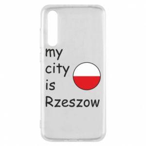 Huawei P20 Pro Case My city is Rzeszow