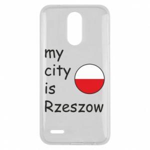 Lg K10 2017 Case My city is Rzeszow