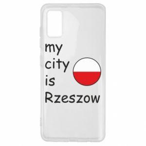 Samsung A41 Case My city is Rzeszow