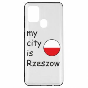 Samsung A21s Case My city is Rzeszow