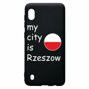 Samsung A10 Case My city is Rzeszow