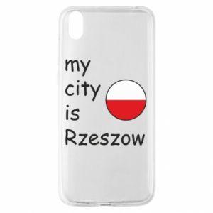 Huawei Y5 2019 Case My city is Rzeszow