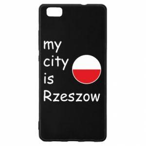 Huawei P8 Lite Case My city is Rzeszow