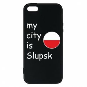 Etui na iPhone 5/5S/SE My city is Slupsk