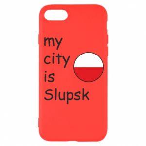 iPhone SE 2020 Case My city is Slupsk