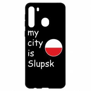 Samsung A21 Case My city is Slupsk