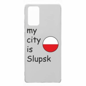 Samsung Note 20 Case My city is Slupsk
