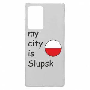Samsung Note 20 Ultra Case My city is Slupsk