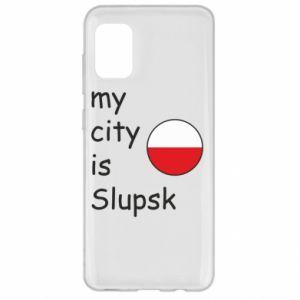 Samsung A31 Case My city is Slupsk