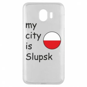 Etui na Samsung J4 My city is Slupsk