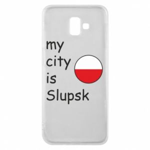 Etui na Samsung J6 Plus 2018 My city is Slupsk