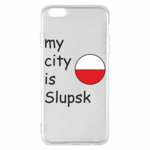 Etui na iPhone 6 Plus/6S Plus My city is Slupsk