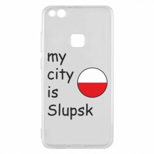 Etui na Huawei P10 Lite My city is Slupsk