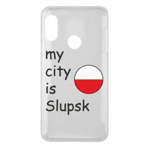 Etui na Mi A2 Lite My city is Slupsk