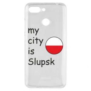 Etui na Xiaomi Redmi 6 My city is Slupsk