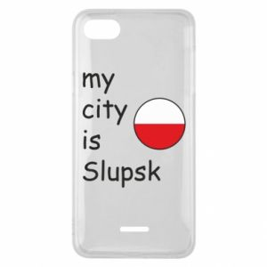 Etui na Xiaomi Redmi 6A My city is Slupsk