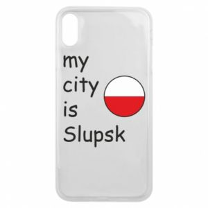 Etui na iPhone Xs Max My city is Slupsk