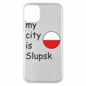 Etui na iPhone 11 Pro My city is Slupsk