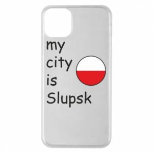 Etui na iPhone 11 Pro Max My city is Slupsk