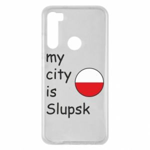 Xiaomi Redmi Note 8 Case My city is Slupsk
