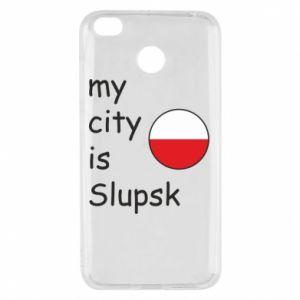 Xiaomi Redmi 4X Case My city is Slupsk