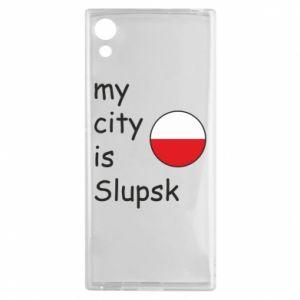 Sony Xperia XA1 Case My city is Slupsk