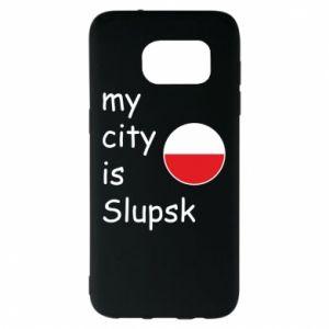 Samsung S7 EDGE Case My city is Slupsk