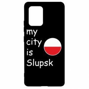 Samsung S10 Lite Case My city is Slupsk