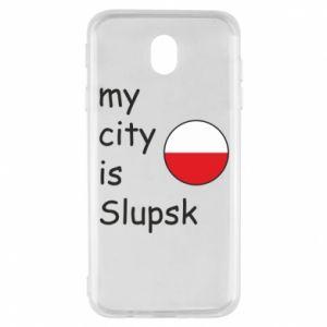 Samsung J7 2017 Case My city is Slupsk
