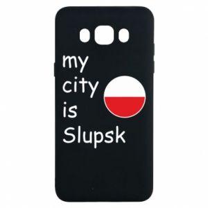 Samsung J7 2016 Case My city is Slupsk