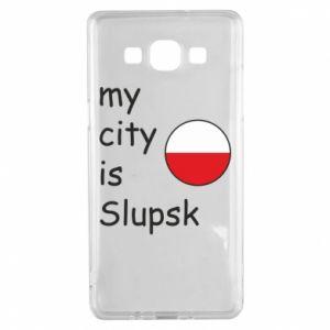 Samsung A5 2015 Case My city is Slupsk