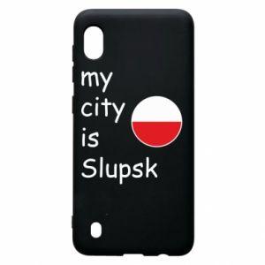 Samsung A10 Case My city is Slupsk