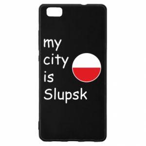 Huawei P8 Lite Case My city is Slupsk