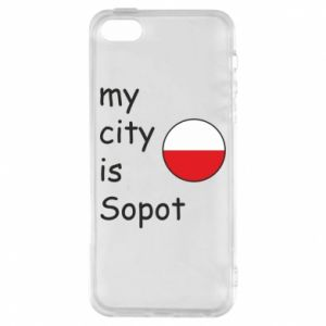Etui na iPhone 5/5S/SE My city is Sopot