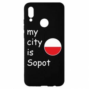 Huawei P Smart 2019 Case My city is Sopot