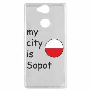 Etui na Sony Xperia XA2 My city is Sopot