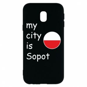 Etui na Samsung J3 2017 My city is Sopot