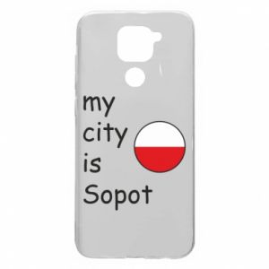 Etui na Xiaomi Redmi Note 9/Redmi 10X My city is Sopot