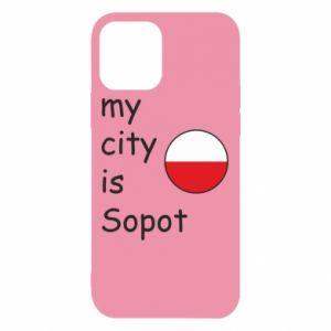 Etui na iPhone 12/12 Pro My city is Sopot