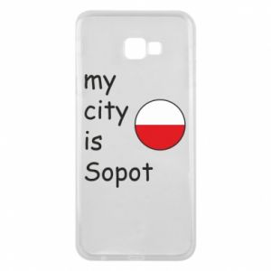 Etui na Samsung J4 Plus 2018 My city is Sopot