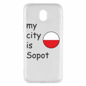 Etui na Samsung J5 2017 My city is Sopot