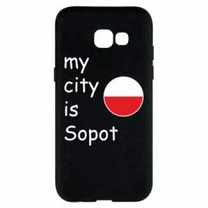 Etui na Samsung A5 2017 My city is Sopot
