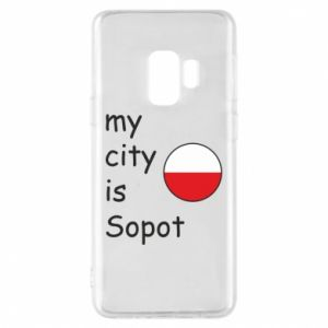 Etui na Samsung S9 My city is Sopot