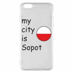 Etui na iPhone 6 Plus/6S Plus My city is Sopot
