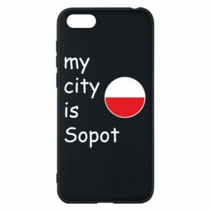 Etui na Huawei Y5 2018 My city is Sopot