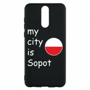 Etui na Huawei Mate 10 Lite My city is Sopot