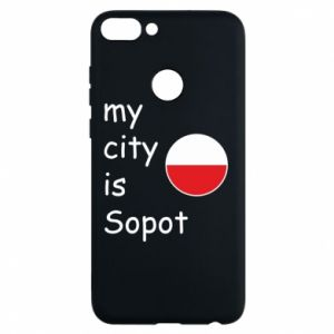 Etui na Huawei P Smart My city is Sopot
