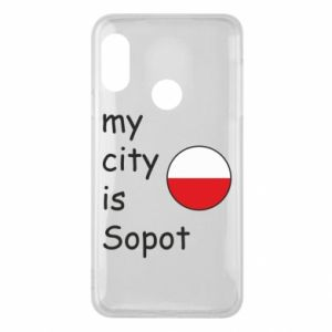 Etui na Mi A2 Lite My city is Sopot