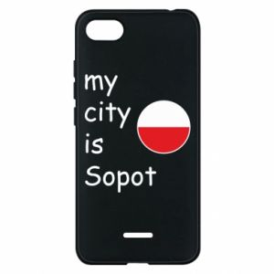Etui na Xiaomi Redmi 6A My city is Sopot